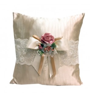 Lovely Lace Cushion with Insert