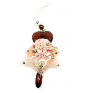 LL Crystal Mobile Hanging-Peach