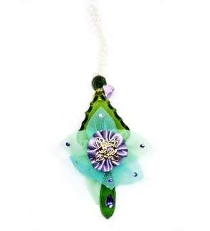 LL Crystal Mobile Hanging-Green
