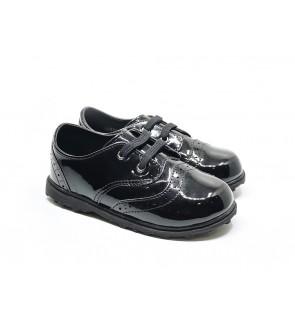 Boy Black Shoes size 19-28