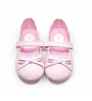 Girl Pink Shoes Size 21-28