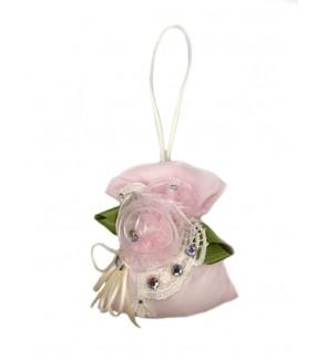 Lovely Lace fragrant Bag-Pink