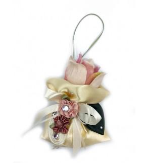 Lovely Lace fragrant Bag-Cream