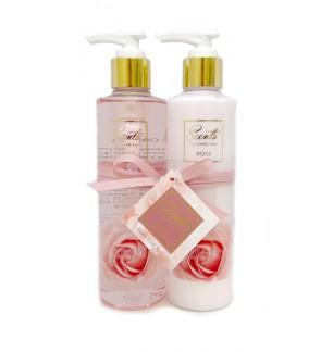 250ml Rose Body Lotion & Shower Gel Set