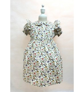 Toddler Short Sleeve Dress (4&5 Years Old)