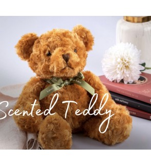 Scented Teddy Bear with curly rosie furs - Limited Edition